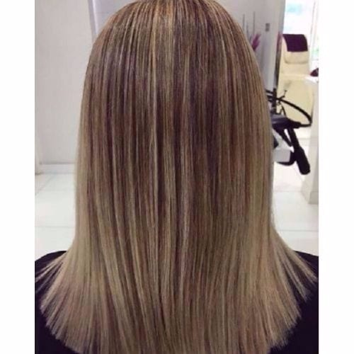 Ash Blonde Brown Hair