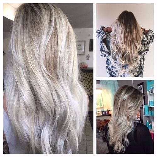 Asian Ash Blonde Hair