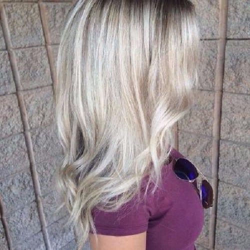 ash blonde baby blonde