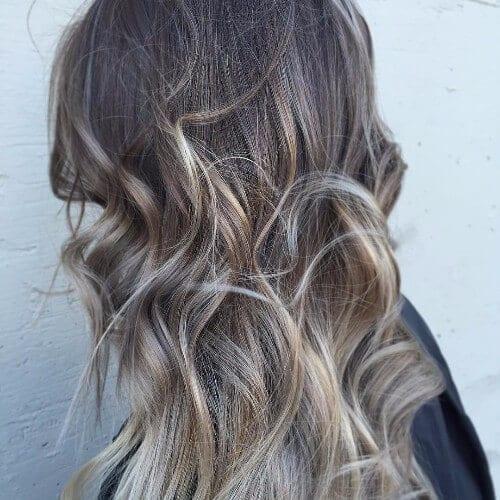 ash blonde dirty blonde hair balayage
