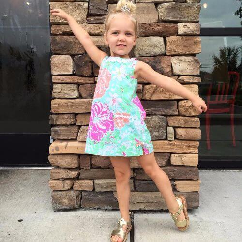 bejeweled ballerina updo for little girls