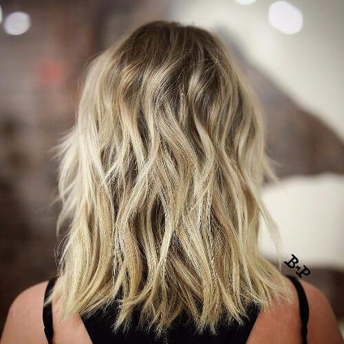 dirty blonde hair balayage