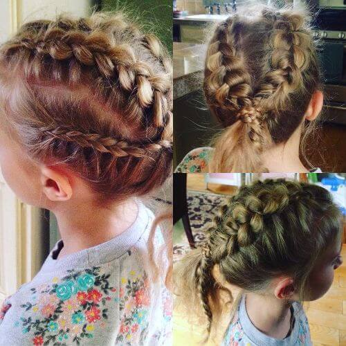 Fantastic The Top 50 Little Girl Hairstyles For Any Occasion Hairstyles For Women Draintrainus