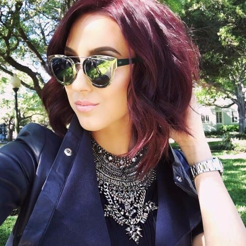 30 Burgundy Hair Ideas For Blonde Red And Brunette Hair