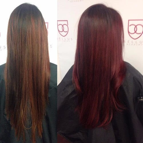 30 Burgundy Hair Ideas for Blonde, Red and Brunette Hair | 500 x 500 jpeg 49kB