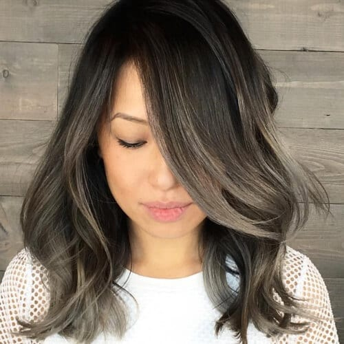 Charcoal Brown Hair Color