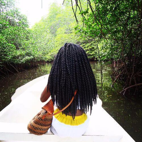 long senegalese twist braids