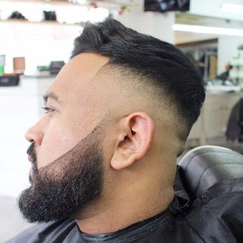 pattern hairstyle for men with thin hair