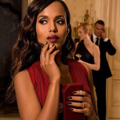 Kerry Washington long curly hair