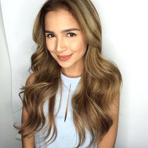 deep side part hairstyle for thin hair