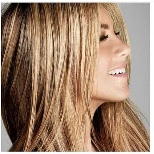 Jennifer Aniston dirty blonde hair