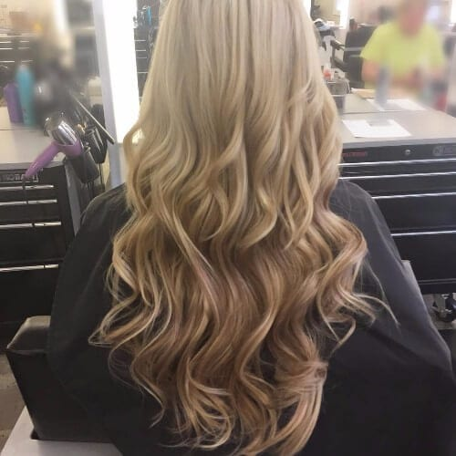 dirty blonde hair highlights