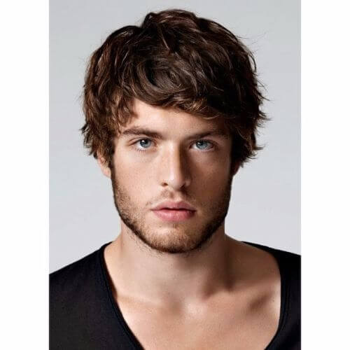 messy short hairstyles for men