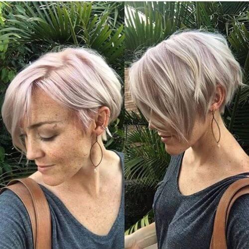 Hairstyles For Short Voluminous Hair : 12. Instant Volume Short Hairstyle for Fine Hair