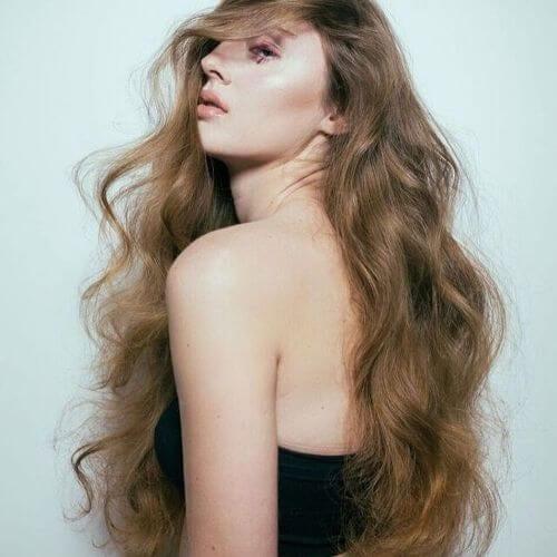 Layered Curly Thin Hair