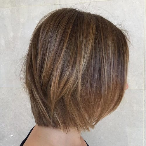 Light Brown Hair with Babylights