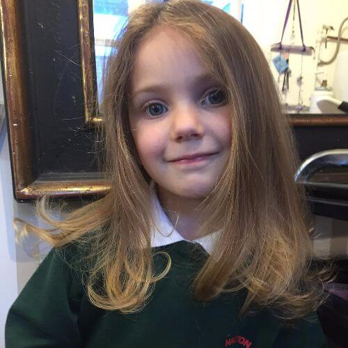 overgrown bangs layered cut for kids