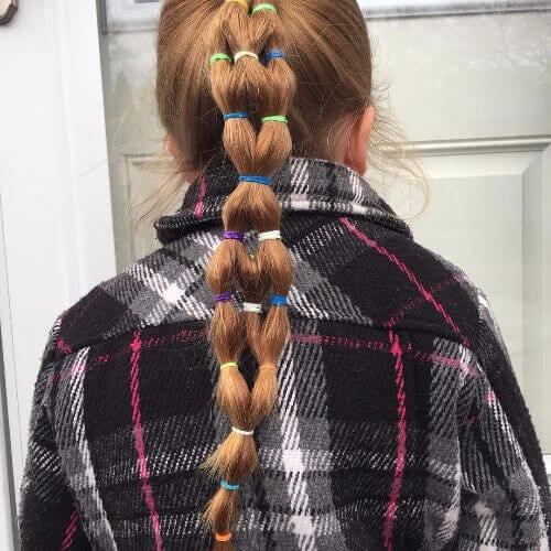 elastic ponytail