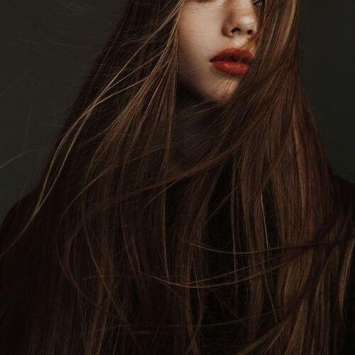 highlights on brown hair