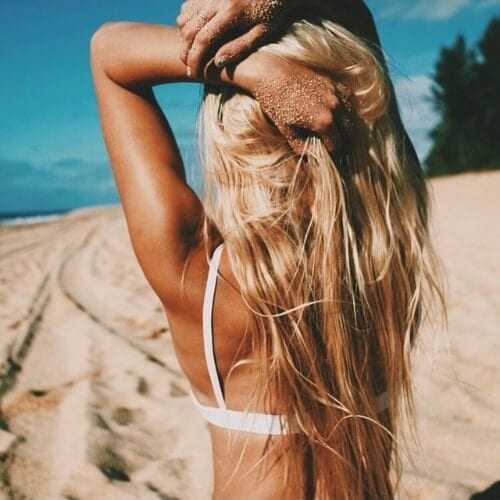 dirty blonde hair summer hairstyle