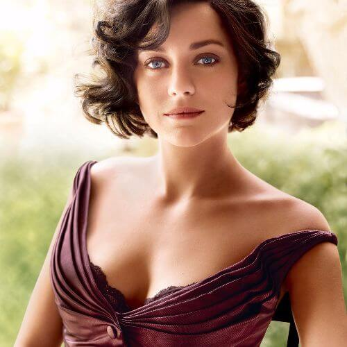 marion cotillard short curly haircut