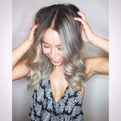 Medium Ash Blonde Hair