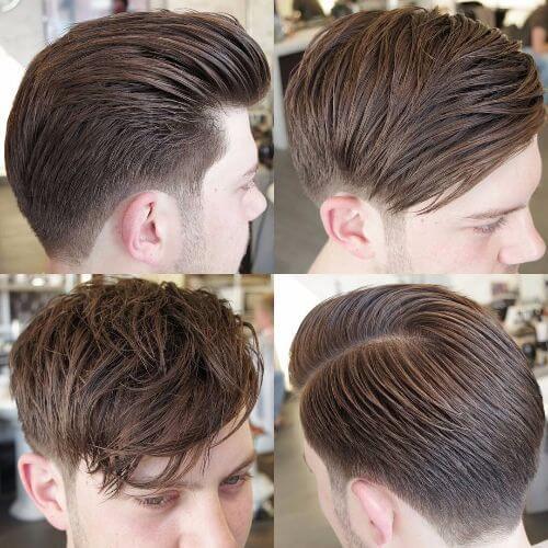 faux hawk haircut