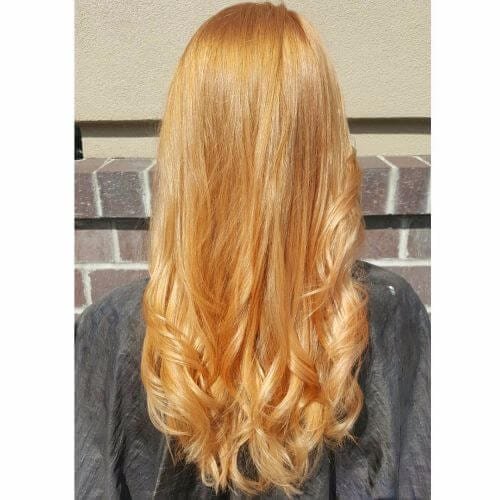 Natural Strawberry Blonde Red Hair