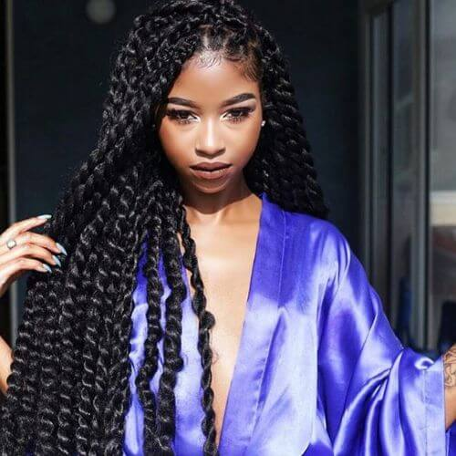 protective hairstyle for black hair twist braids