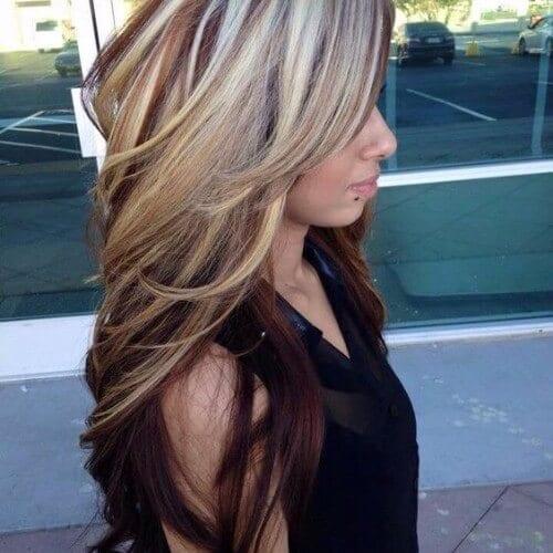 Blonde And Burgundy Hair 32
