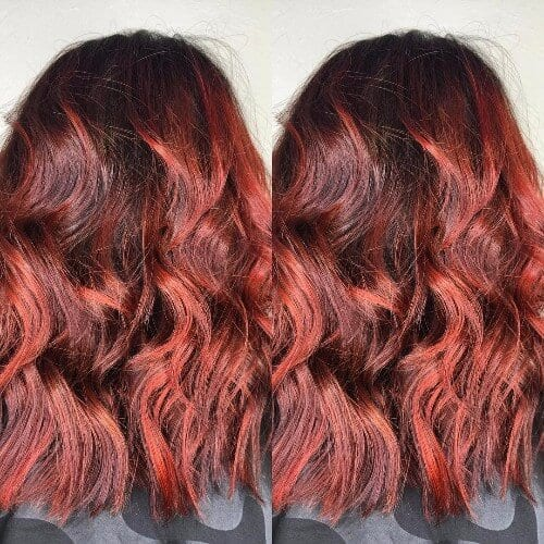 Shades of Red Hair