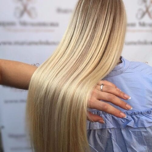 elegant dirty blonde hairsytle