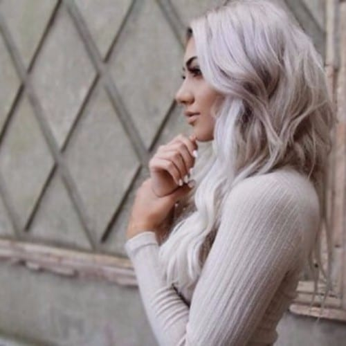Winter Ash Blonde Tones