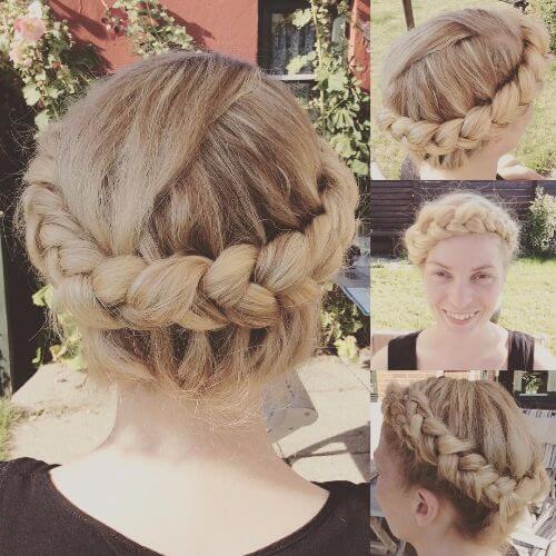 dutch braid crown braided updos