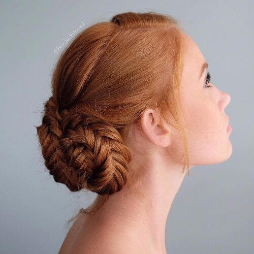 braided buns braided updos