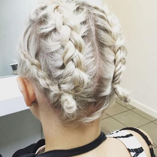 60 Great Updos For Short Hair To Try On Every Occasion