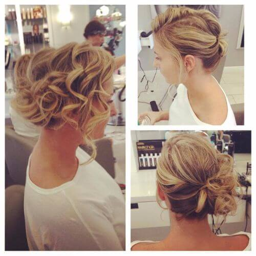 35 Romantic Wedding Updos For Medium Hair: 60 Great Updos For Short Hair To Try On Every Occasion