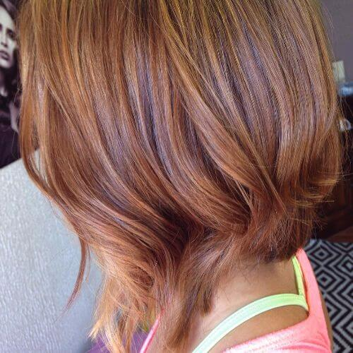 caramel hair color