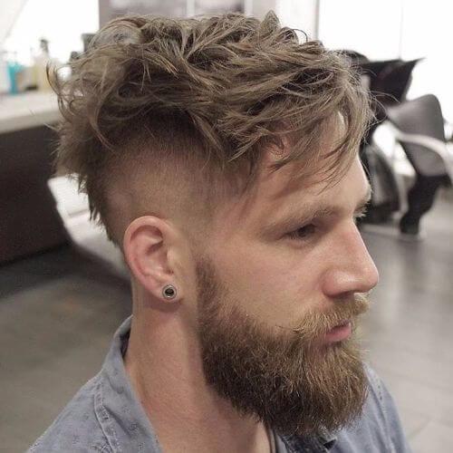 undercut messy hair