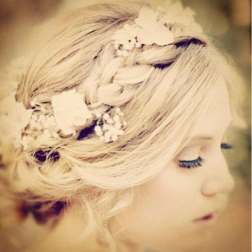 flower crown braid