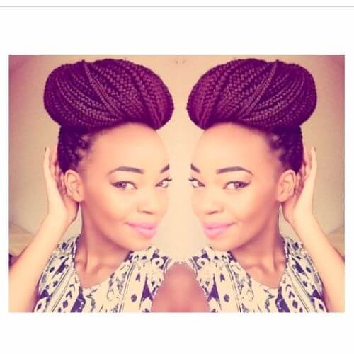 Wedding Hairstyles With Box Braids: 80 Gorgeous Box Braids Styles For Every Occasion
