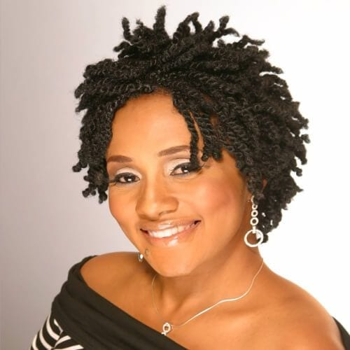 Nubian Twists Braided Hairstyles for Short Hair twist braids