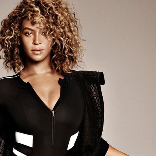 beyonce short haircuts for curly hair
