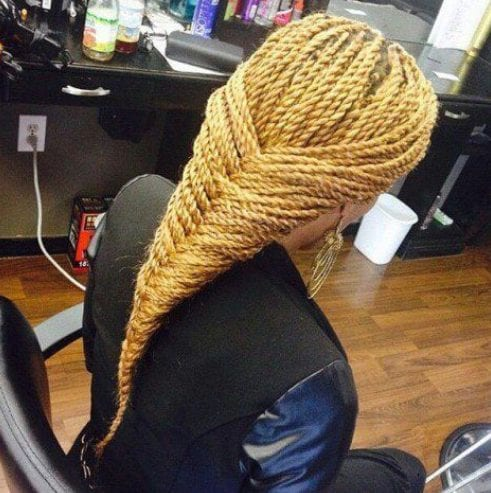 braided twist braids