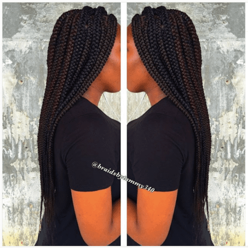 jumbo box braids mirror image