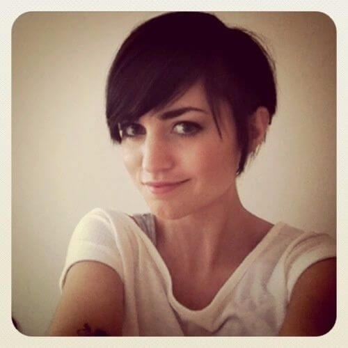 Lacey Brown Pixie Cut