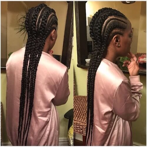 black goddess braids