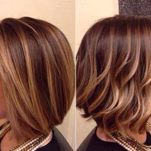 blonde wavy bob haircut