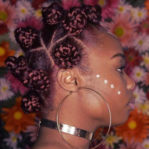 carved bantu knots