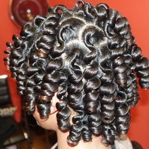 first stage bantu knots